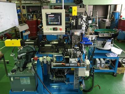 サブクランプ付き端末加工機 OEFシリーズ